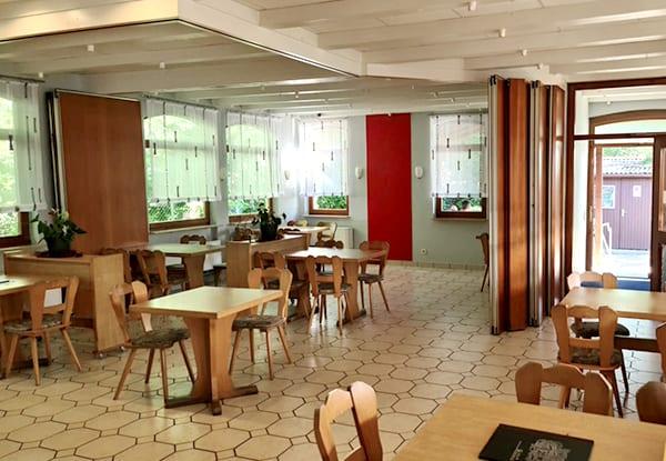 Restaurant Hasenheim von innen